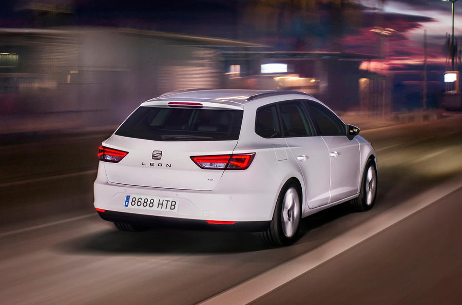 Seat Leon ST rear quarter