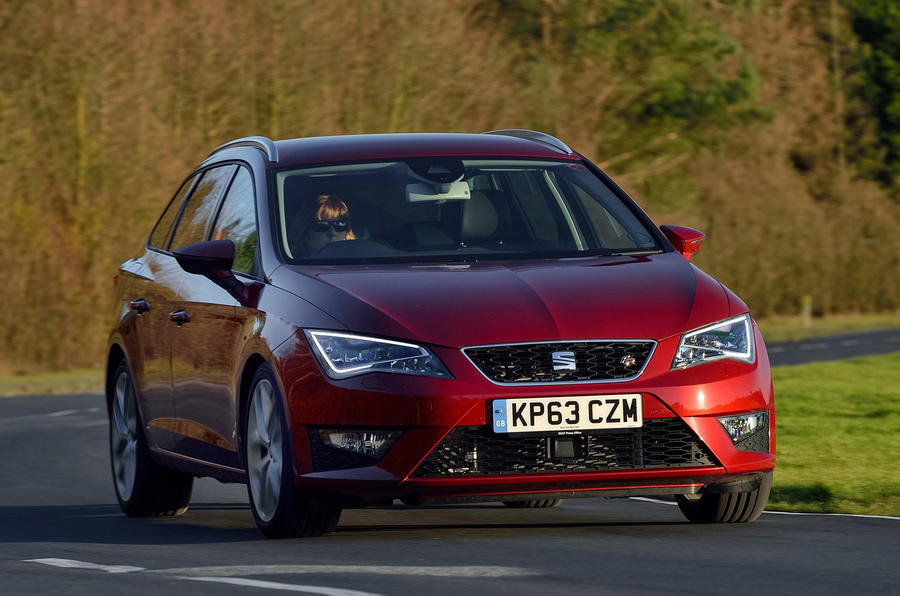 seat leon st fr first drive review review autocar. Black Bedroom Furniture Sets. Home Design Ideas