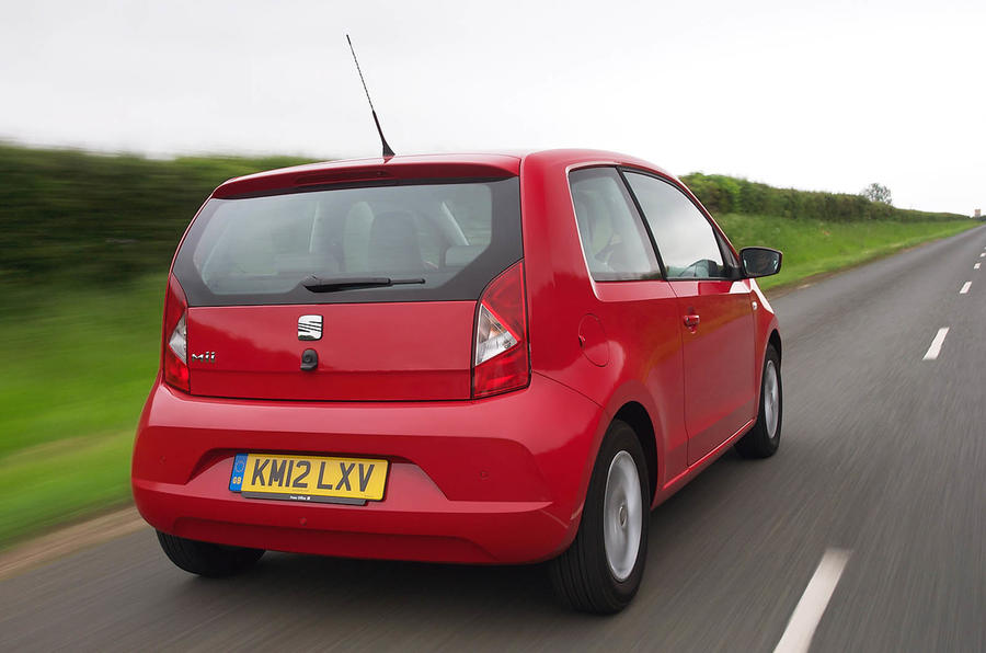 Seat Mii rear ends