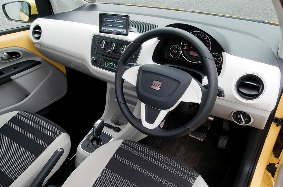Seat Mii dashboard