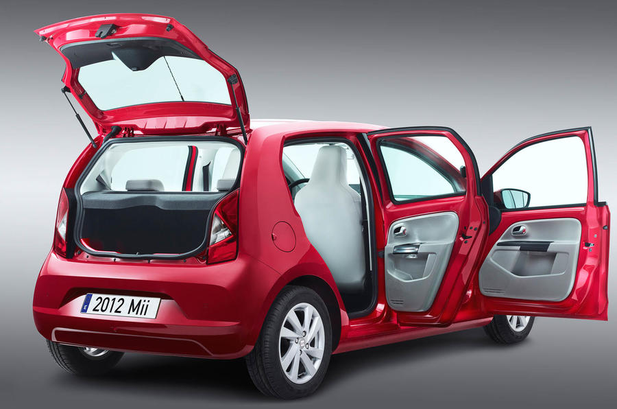 Five-door Seat Mii revealed