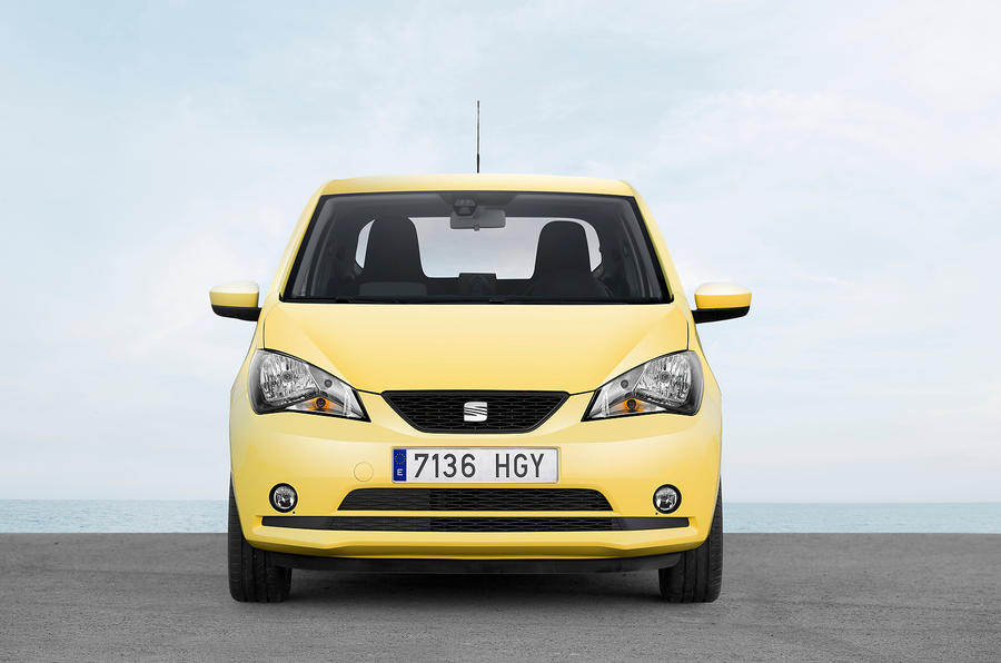 Seat Mii front end