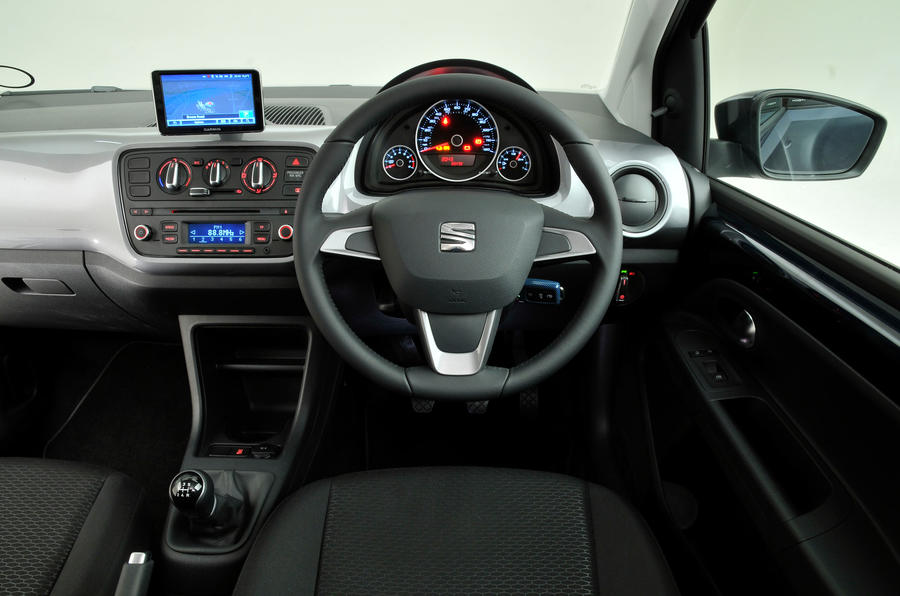 Seat Mii dashboard