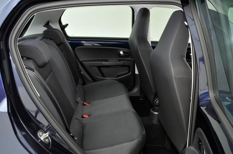 Seat Mii rear seats