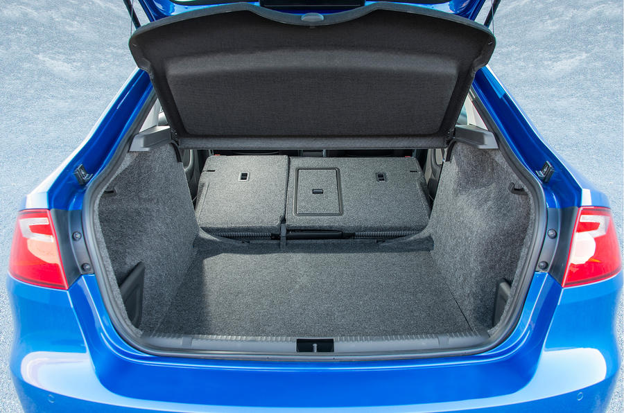 Seat Toledo boot space