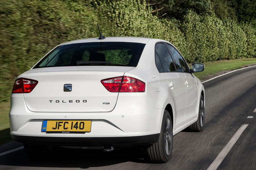 Seat Toledo rear