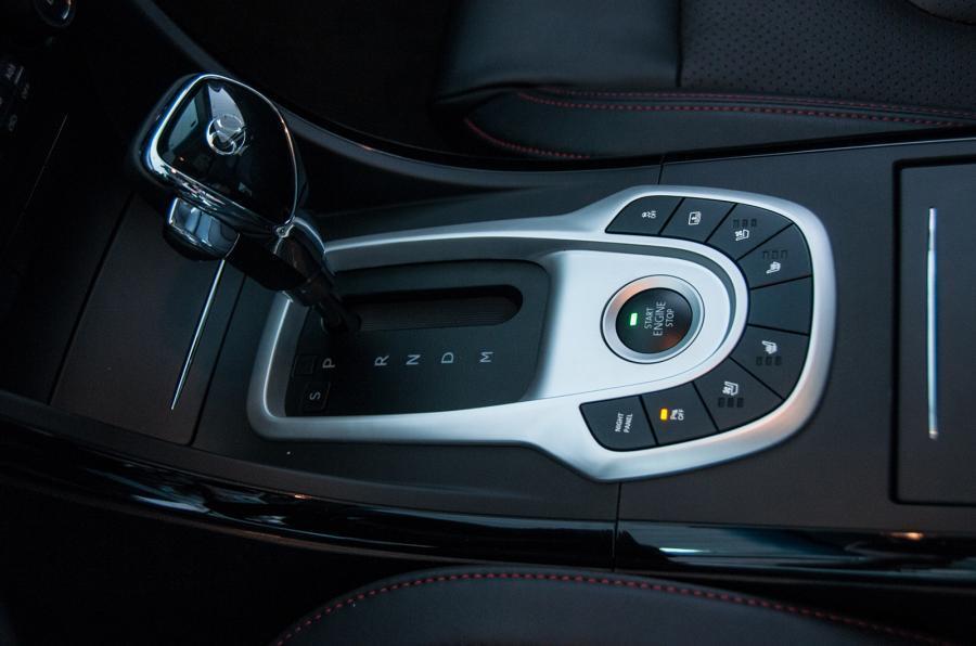 Senova D50 automatic gearbox