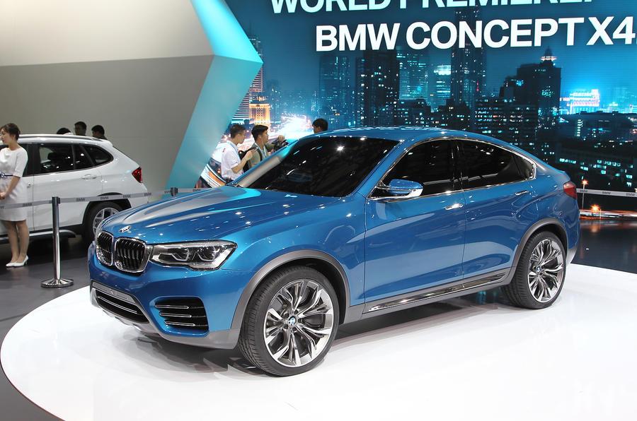 BMW Concept X4 - latest pics: Shanghai motor show 2013