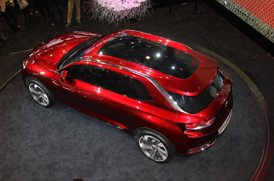 Citroen Wild Rubis: Shanghai motor show 2013