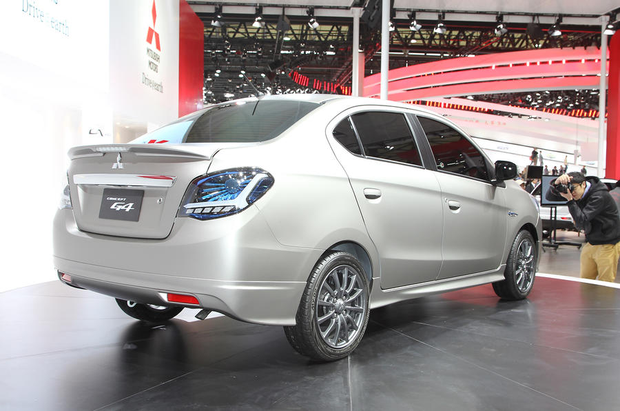Mitsubishi Concept G4 saloon for Shanghai premiere