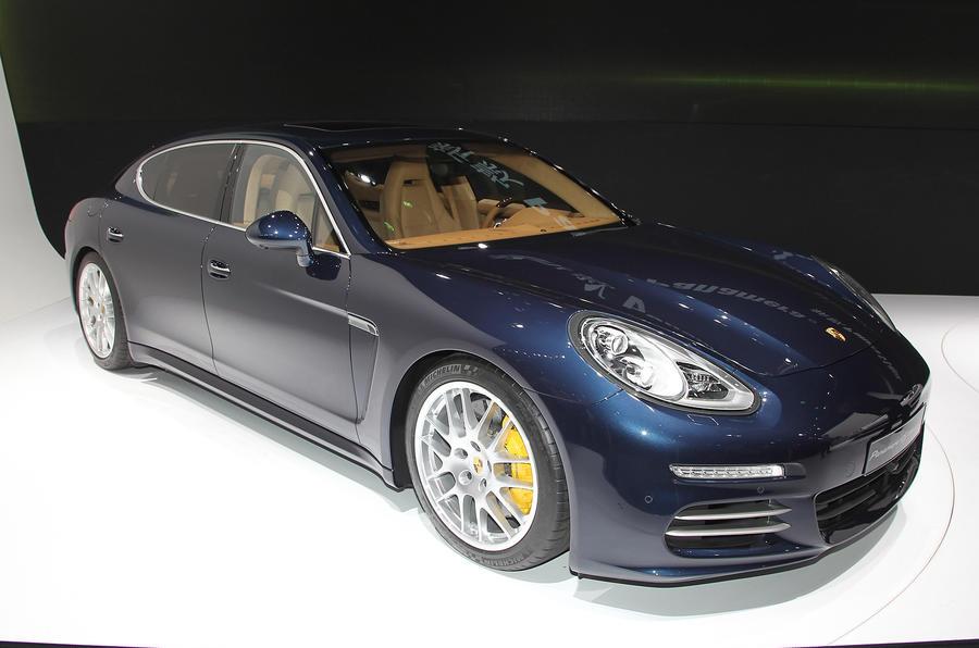 Long-wheelbase Porsche Panamera: Shanghai motor show