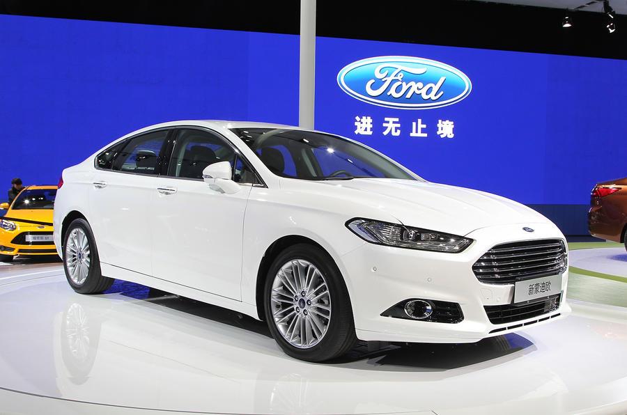 Ford Mondeo 1.5-litre Ecoboost: Shanghai motor show 2013