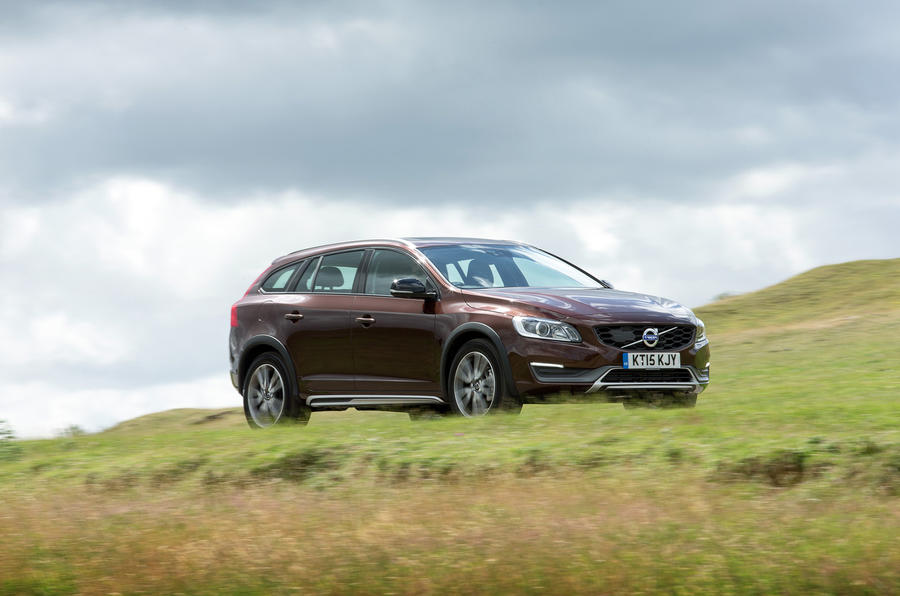 The 188bhp Volvo V60 Cross Country