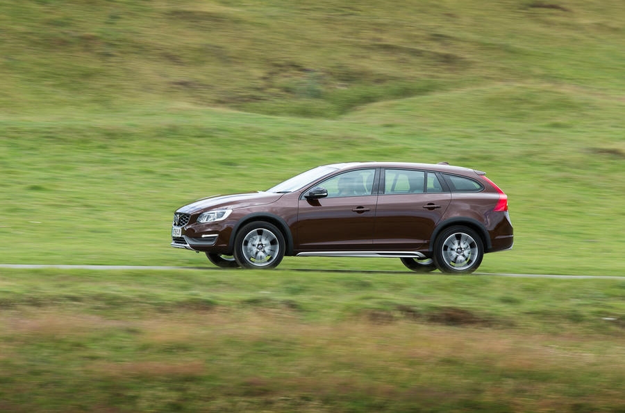 Volvo V60 Cross Country side profile