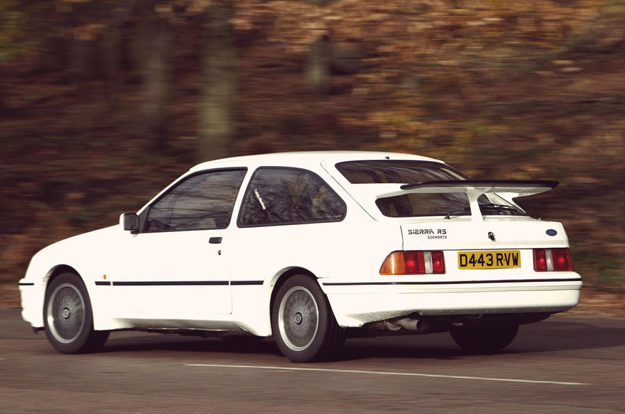Ford Sierra RS Cosworth driven