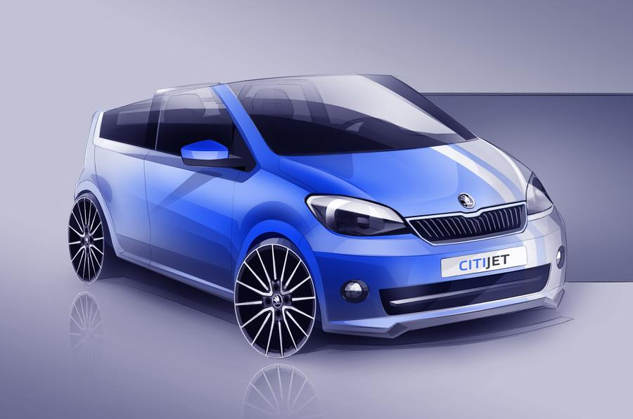 Skoda previews new CitiJet concept for Worthersee show
