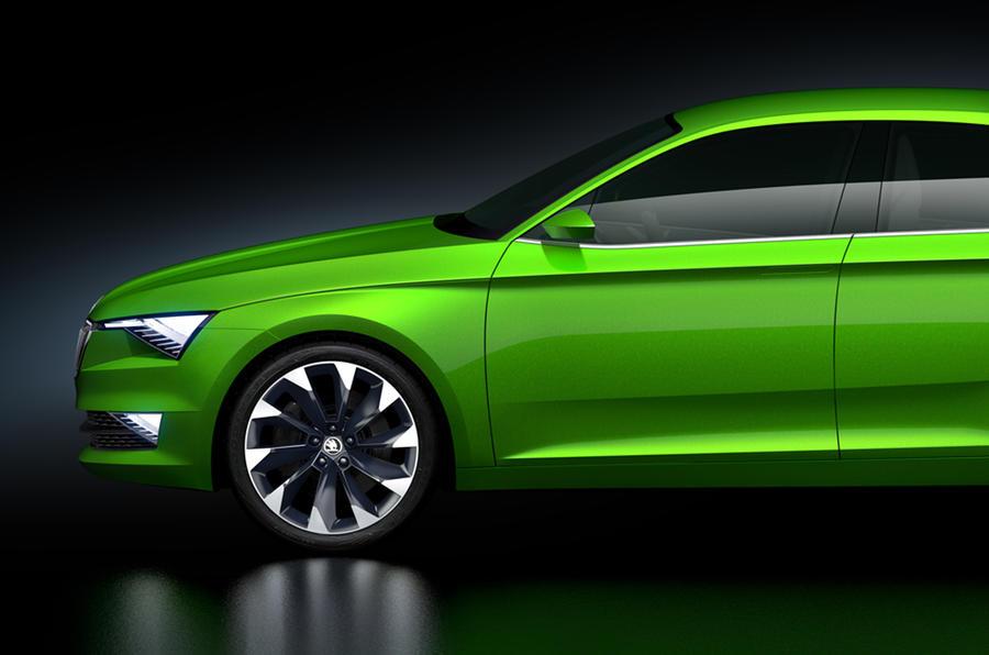 Skoda VisionC concept unveiled