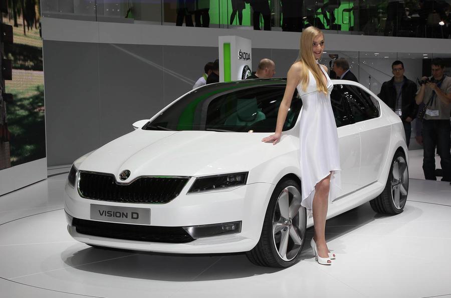 Geneva motor show: Skoda Vision D
