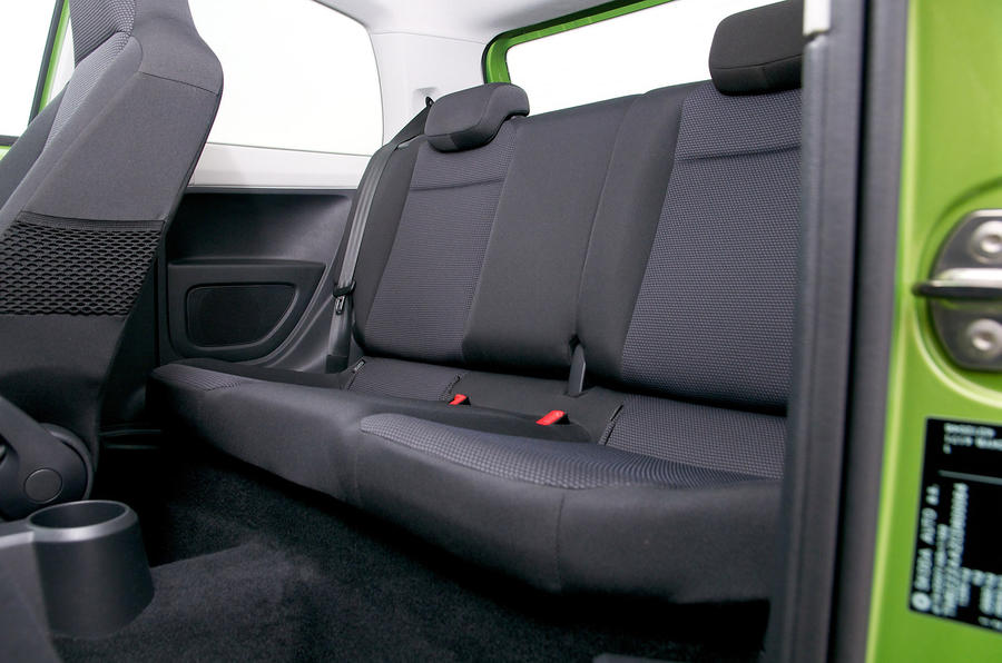 Skoda Citigo rear seats