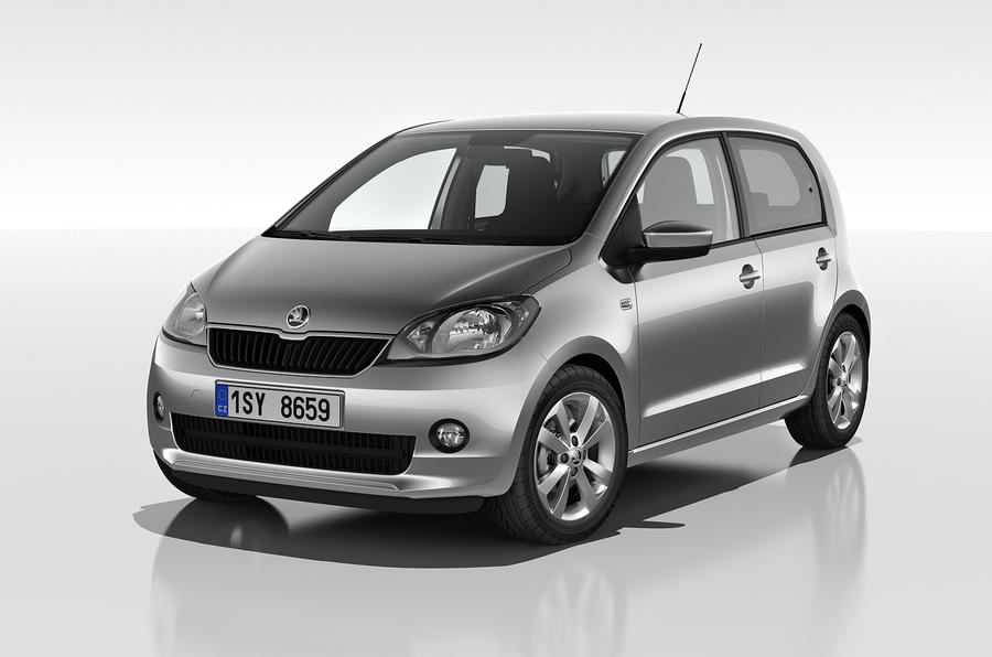 Geneva 2012: Five-door Skoda Citigo