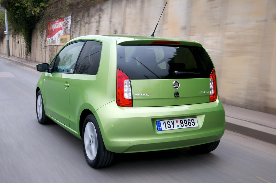 Skoda Citigo rear quarter