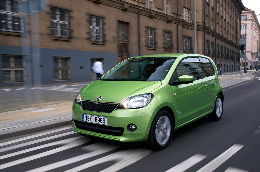 4 star Skoda Citigo