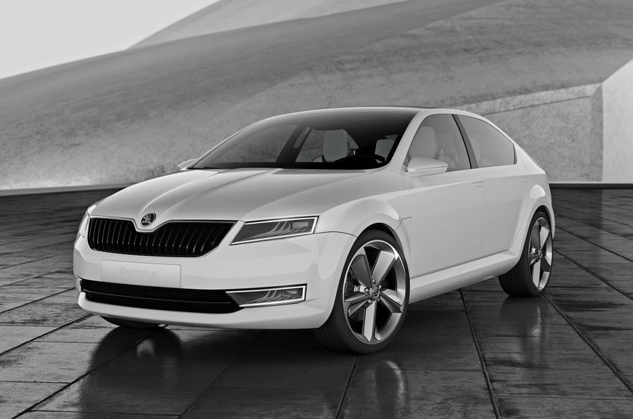 Two-box Skoda Rapid hatchback in the works: Shanghai motor show 2013