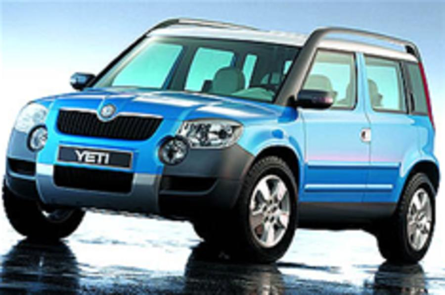 Skoda Yeti ready for Geneva