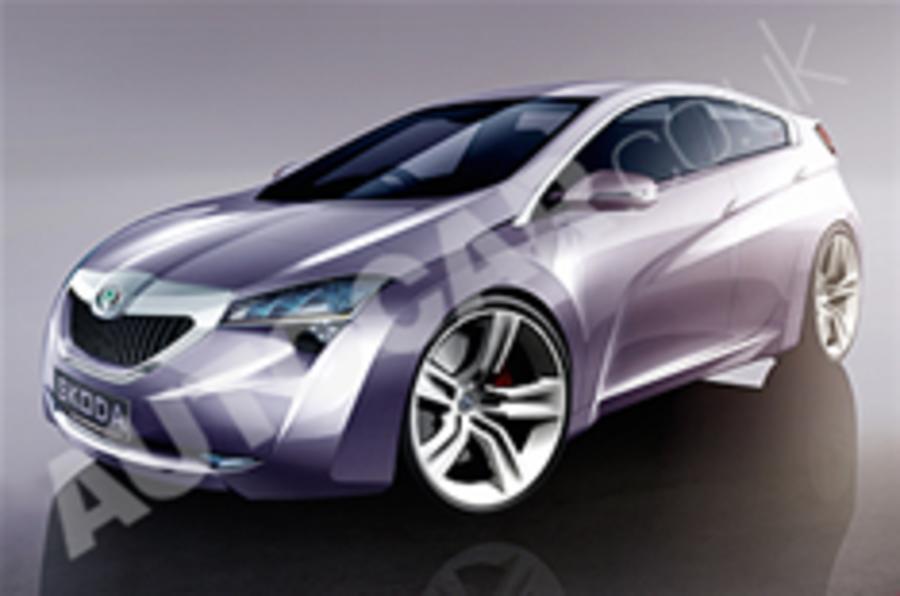 Skoda's five-door coupe plans