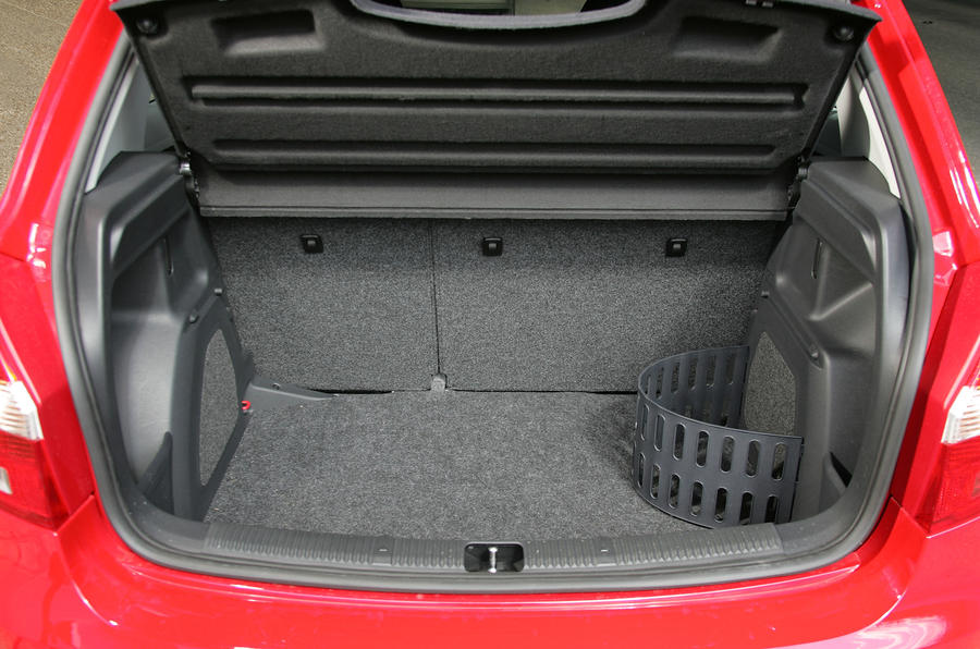 Skoda Fabia boot space