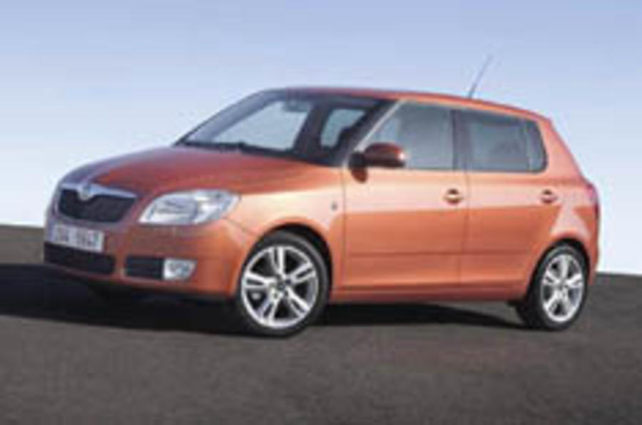 First pictures of the new Skoda Fabia