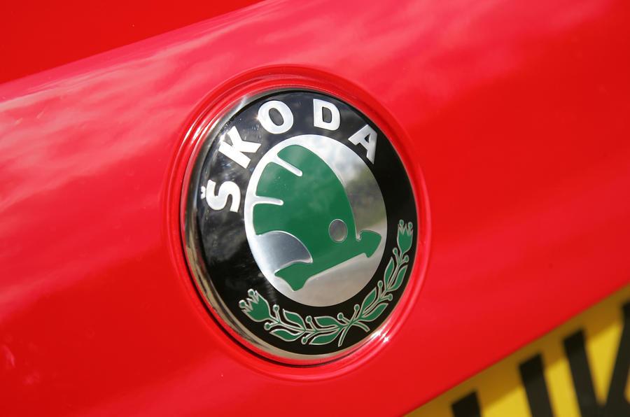 Skoda badging