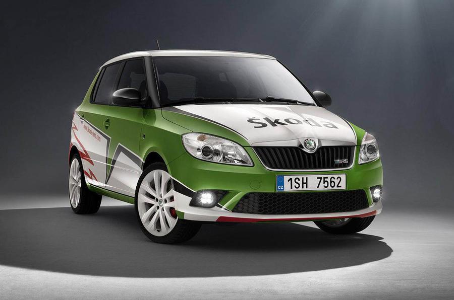 Skoda vRS S2000 announced