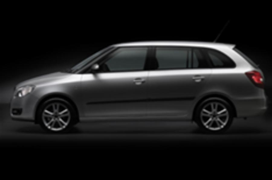 First glimpse of new Skoda Fabia estate