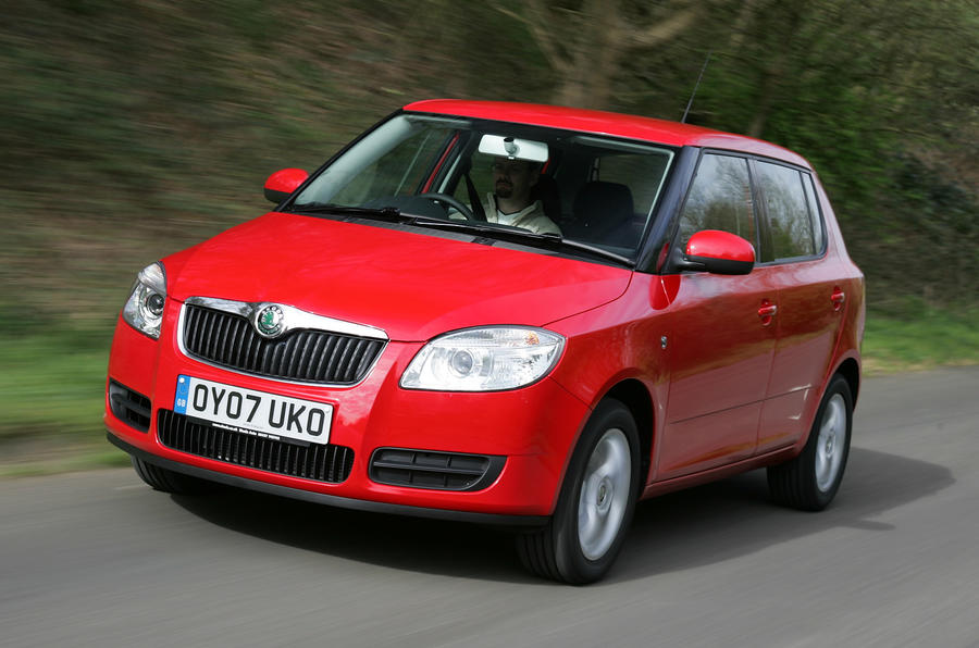 skoda fabia. Black Bedroom Furniture Sets. Home Design Ideas