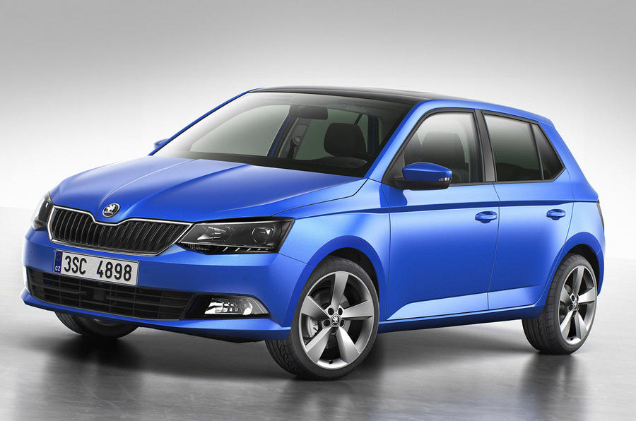 Third-generation Skoda Fabia revealed