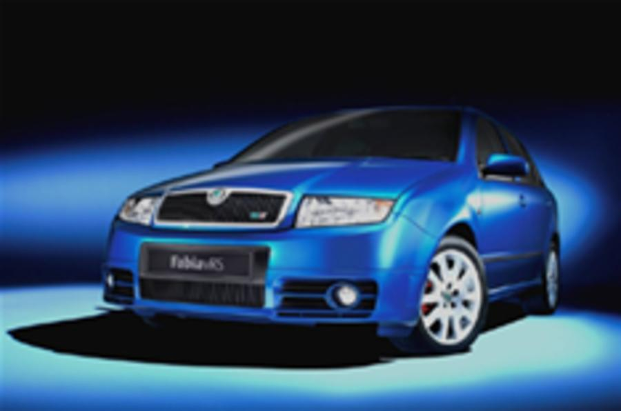 Fabia bows out in fast diesel style