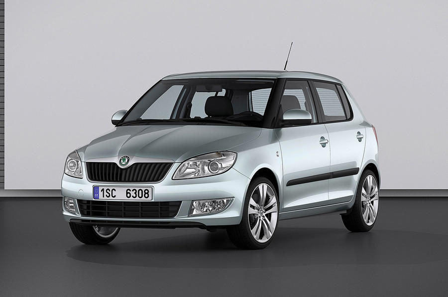 Revised Skoda Fabia revealed