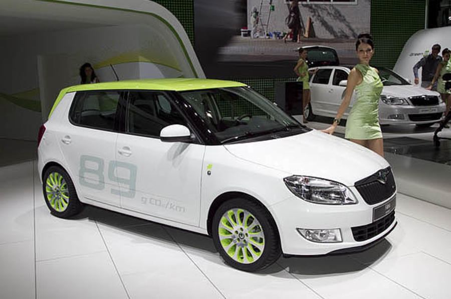 Paris motor show: Skoda greenline models
