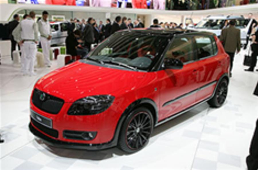 Skoda hints at new Fabia vRS
