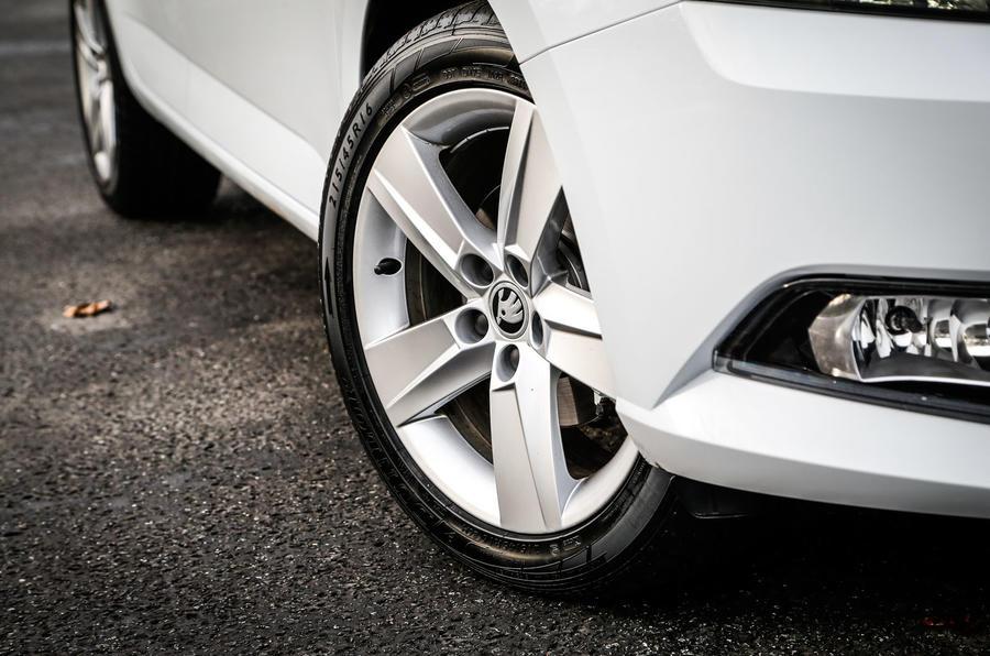 16in Skoda Fabia alloy wheels