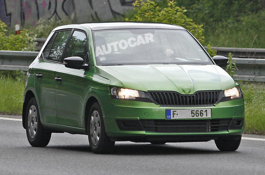 New Skoda Fabia previewed