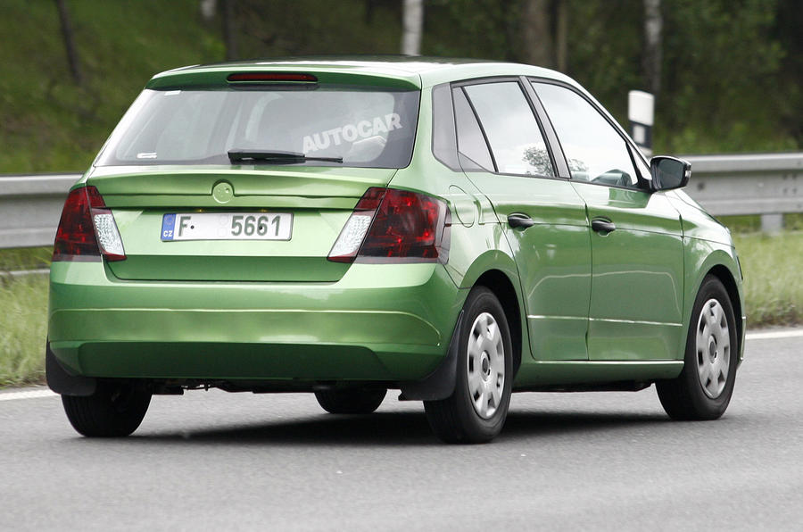 New Skoda Fabia spotted ahead of Paris reveal