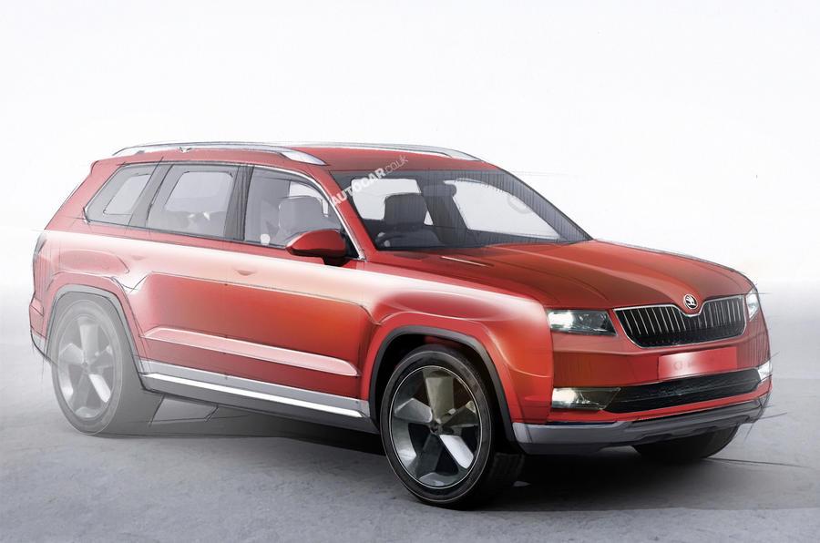 New seven-seat SUV to spearhead Skoda model blitz
