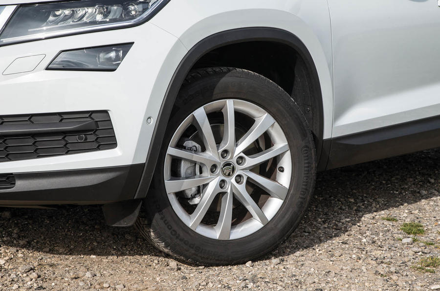 18in Skoda Kodiaq alloy wheels