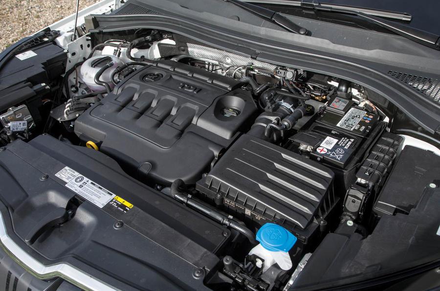 2.0-litre TDI Skoda Kodiaq engine