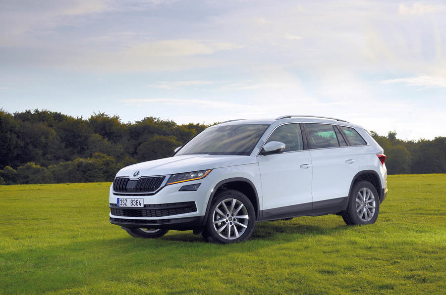 skoda kodiaq performance autocar. Black Bedroom Furniture Sets. Home Design Ideas