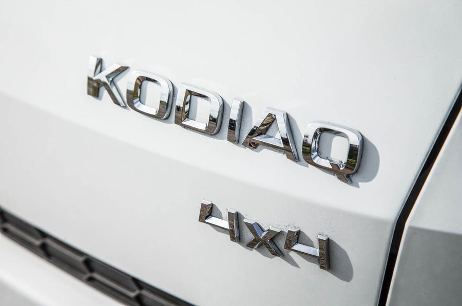 Skoda Kodiaq badging