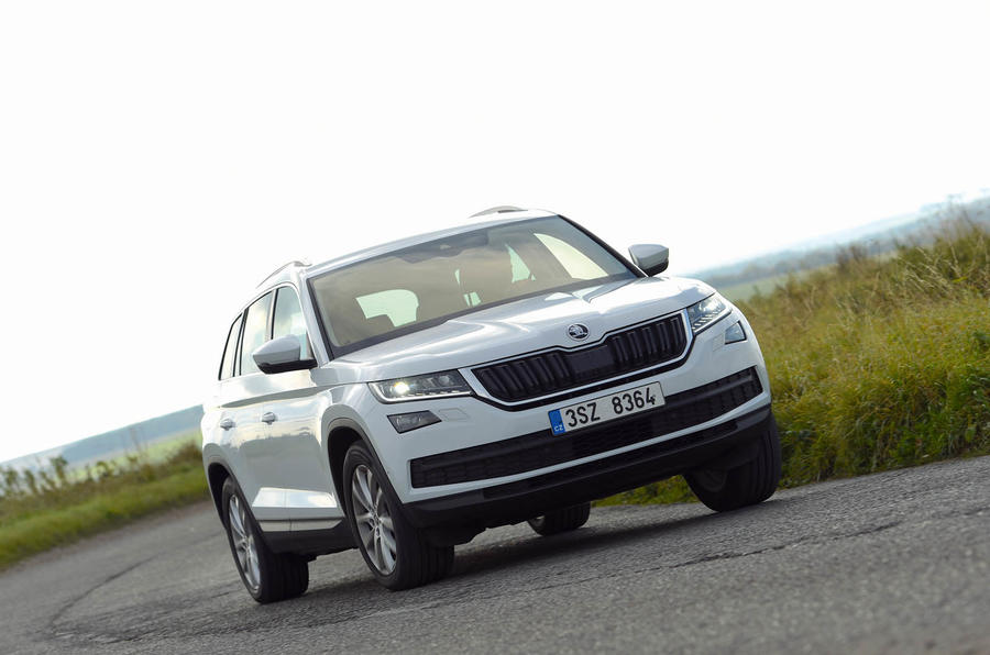 skoda kodiaq design styling autocar. Black Bedroom Furniture Sets. Home Design Ideas