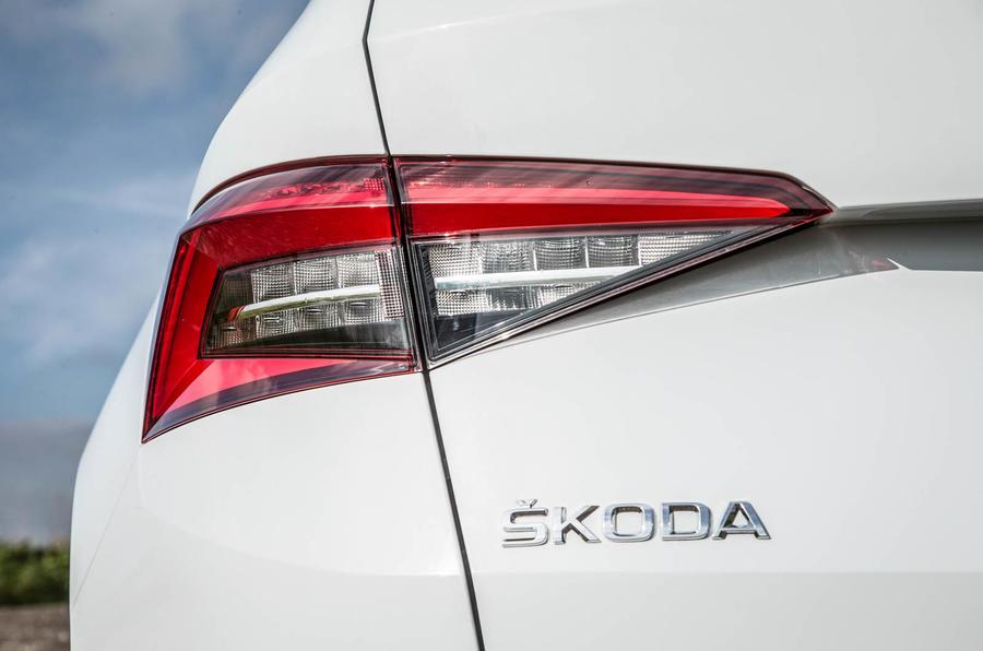 Skoda Kodiaq rear lights